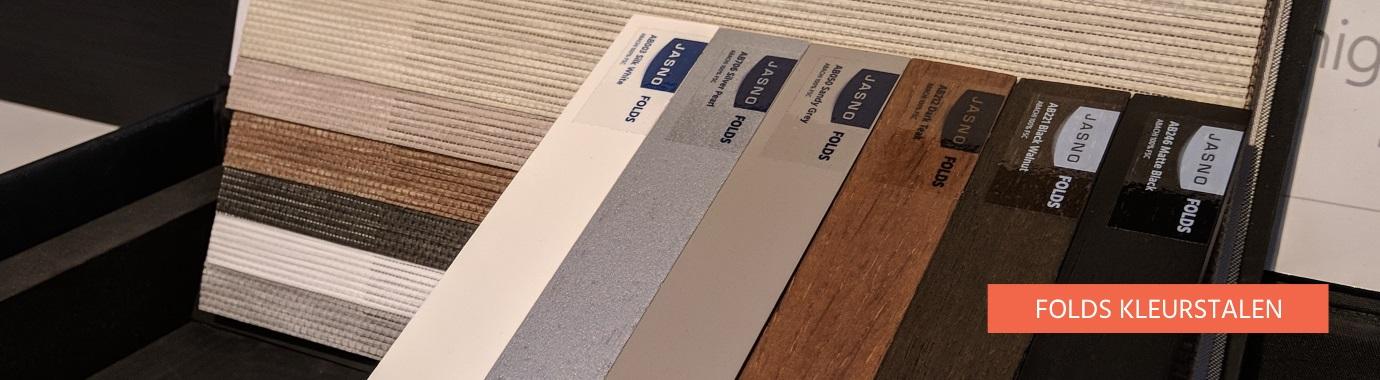 Bestel hier je JASNO Folds kleurstalen