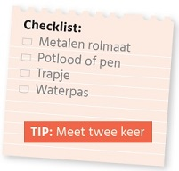 Checklist meten