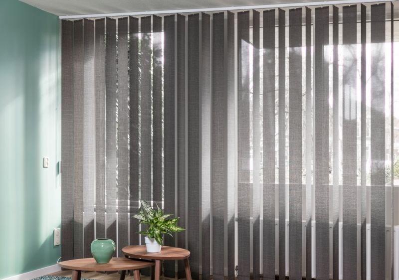 JASNO verticale lamellen grijs vanaf €33,00